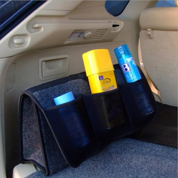 Wish | Boot Organiser Large Car Vehicle Carpet Storage Bag Tools Boot Tidy Velcro