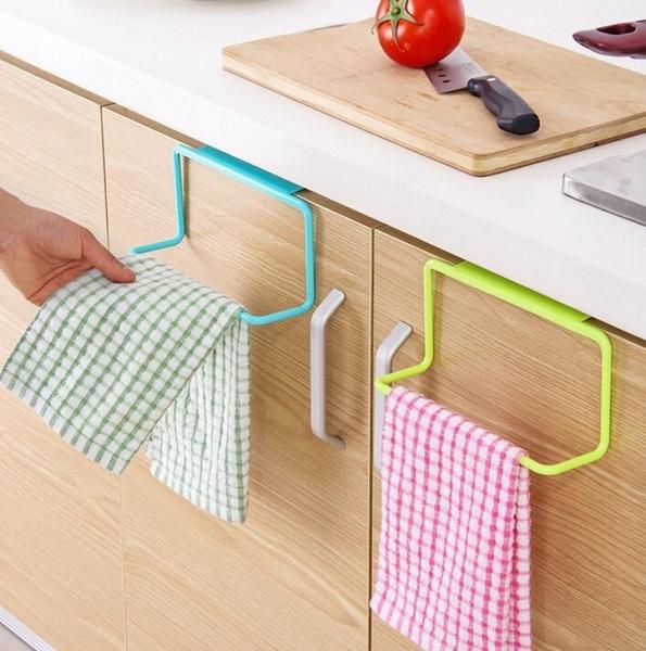 Wish | Over Door Tee Handtuch Rack Bar Hängen Halter Schiene Organizer  Badezimmer Küche Schrank Schrank Aufhänger Regal 4 Farben