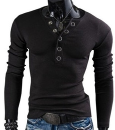 Fashion, Shirt, Sleeve, slim long