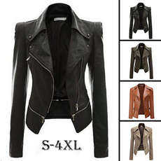 bikerjacket, Fashion, womenovercoat, Winter