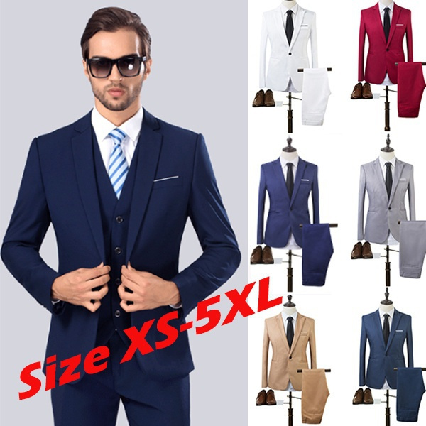 Plus Size Autumn Business And Leisure Suit Two Piece Suits The Groom S Best Man Wedding Men S Blazer Set Coat Geek
