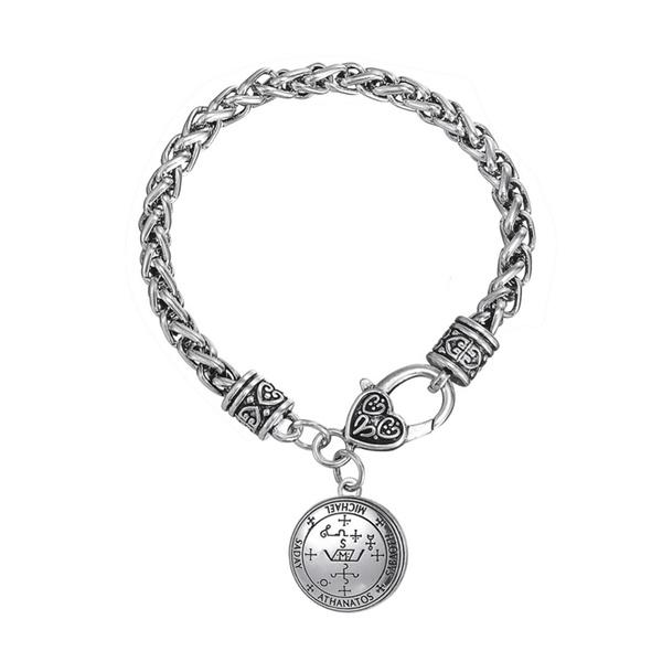 Sigil of Archangel Michael Enochian Talisman Amulet Bangles Bracelet