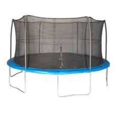 trampolinewithenclosure15ftfootfeet, Blues, 15footskyboundtrampolinewithenclosure, skywalkertrampolinewithenclosurenetblue