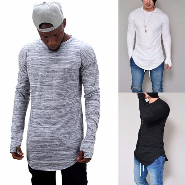 Plus Size, Sleeve, long sleeved shirt, cottonlongsleeved