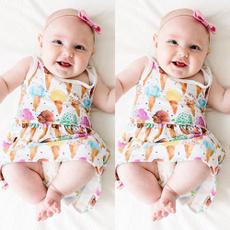 Bebe, Summer, Baby Girl, Cotton