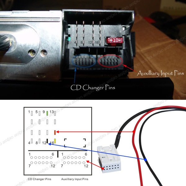 Car Bluetooth Module with Filter for BMW E60 04-10 E63 E64 E61 Mini Navi  Radio Stereo Aux Cable Adapter Wireless Audio Input