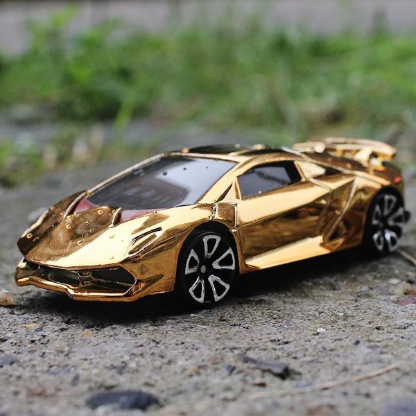 1 64 Sports Car Lamborghini Sesto Elemento Metallic Material Alloy