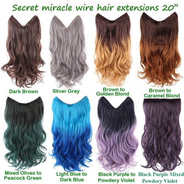 20 Ombre Dip Dye Secret Miracle Wire