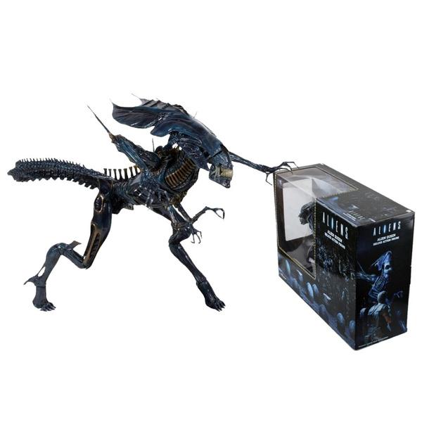30cm High-quality Aliens Predator Xenomorph Alien Blue Queen Mother PVC  Action Figure Doll Collectible Model Toys