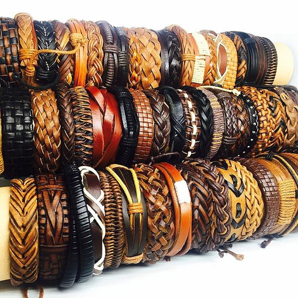 Fashion, Jewelry, leather, Bracelet