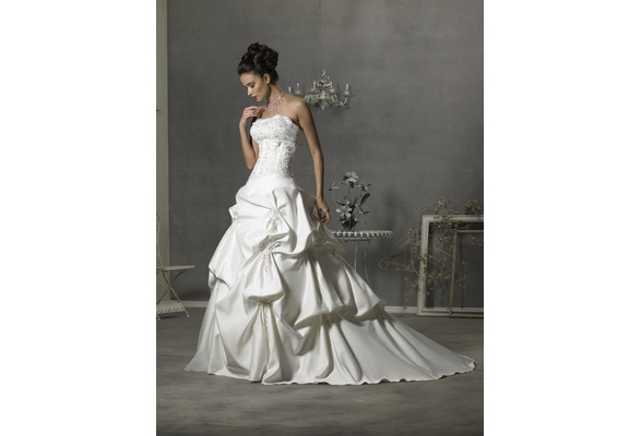 Chapel Ball Gown Wedding Dress