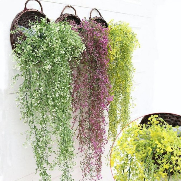 ivygreenleafvinegarland, Garland, ivyvinehangingrose, artificialhangingivyplant