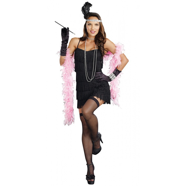 Flapper Roaring 20s Costume Adult Plus Size Adult