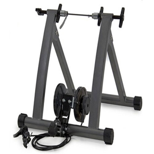 Exercise Bike Stand Indoor Bicycle Cycling Trainer Magnet Steel Frame Stationary