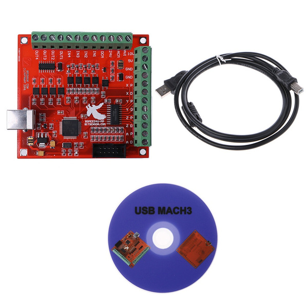 4 Axis USB CNC Controller Interface Board USBCNC 2 1 CNCUSB Substitute MACH3