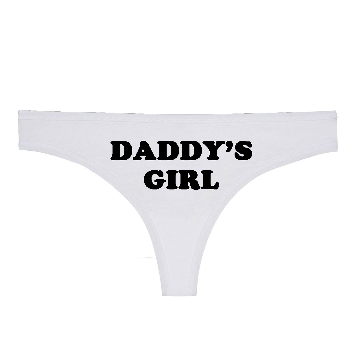 48b2b61c5ab5 Women Sexy Seamless Thong Underwear DADDYS GIRL Print Funny Women T Panties G  String Sexy Low Waist