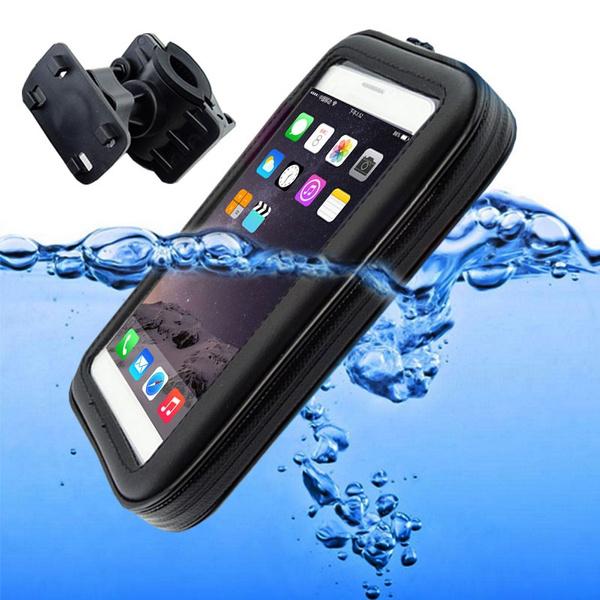 Motorcycle Bike Bicycle Handlebar Holder Mount Waterproof Bag Case For Phone GPS