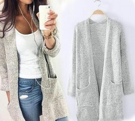 Fashion, womencasualcoat, womencardigancoat, sweater coat