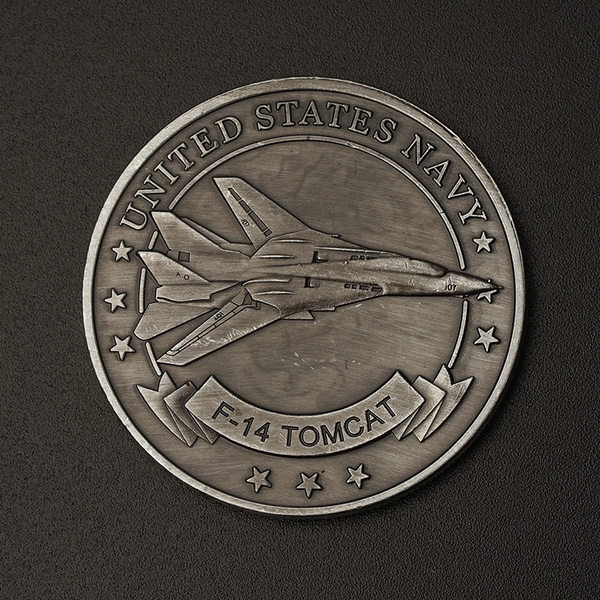 United States Navy USN F-14 Tomcat Challenge Coin Souvenir Commemorative  Coins Gift