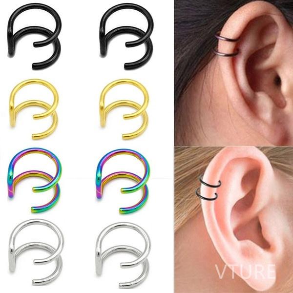 boucle d'oreille sans percer