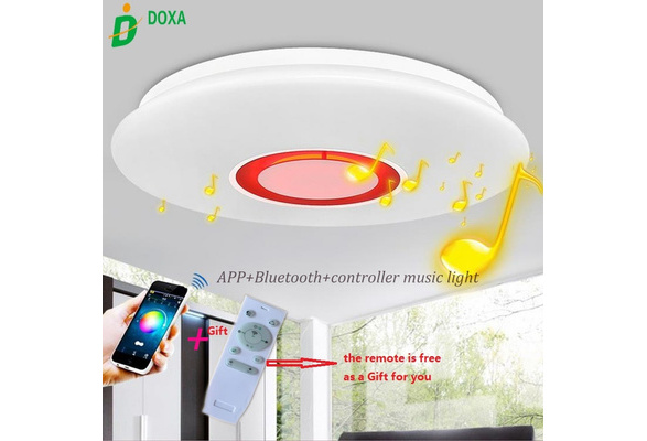 Plafoniere Bluetooth : Wish app control led music ceiling lights with bluetooth sound