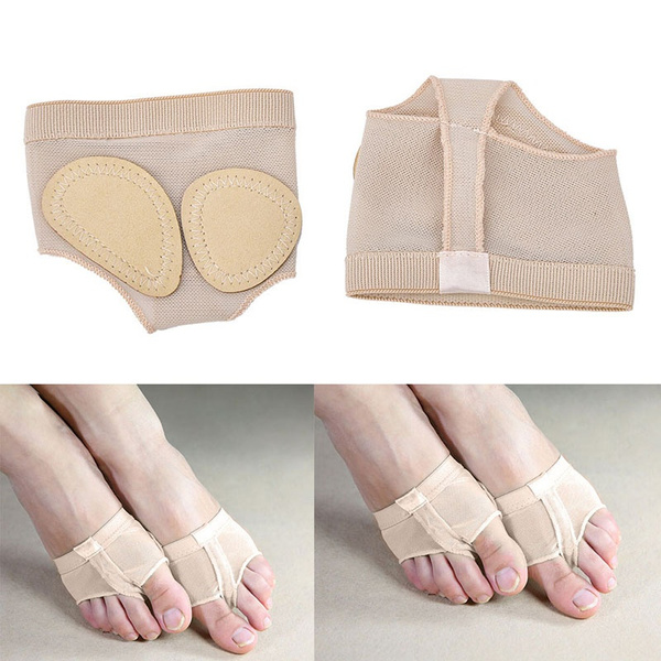 New Ballet Cover Foot Forefoot Toe Undies Thong Belly Dance Half Lyrical Shoes