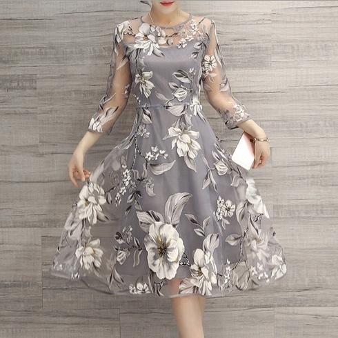 Summer, floraldressesforwomen, long dress, Sweets