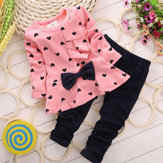 cute, Baby Girl, babygirlscute2pcssuitset, babysuit