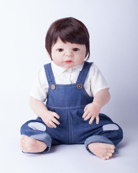 Wish 55cm Full Body Silicone Reborn Baby Boy Toys Waterproof