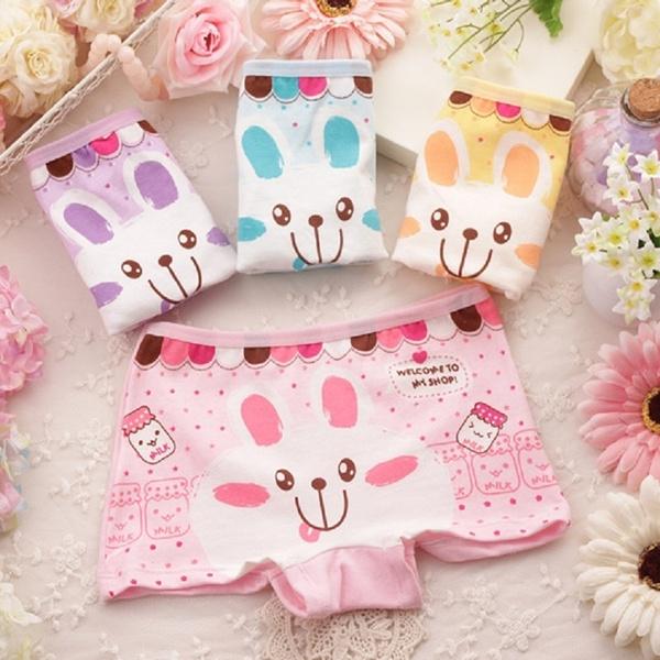 159ab97761a4 4 Pcs / Lot 2-10 Years Old Girl Briefs Kids Underwear Children's ...