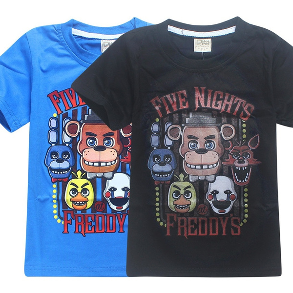 Kids Boys Girls Fnaf Five Nights at Freddy/'s Tee Short sleeved Children T-shirt
