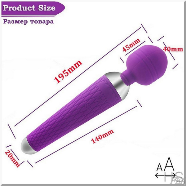 Wish Secret Delivery Super Powerful Vibrators For Women Usb Rechargeable Av Magic Wand Vibrator Massager Adult Sex Toys For Woman Secrt Delivery