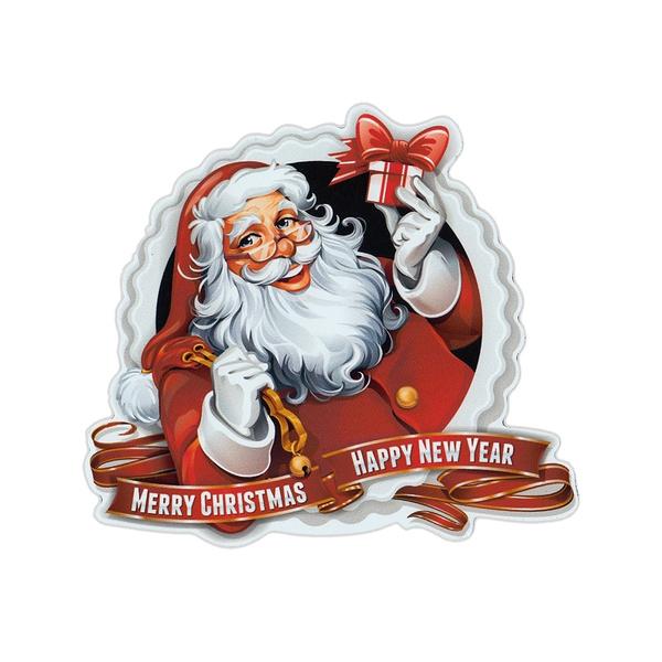 Happy Holidays Santa Magnet