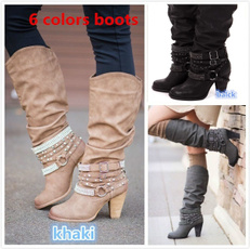 Design, Fashion, long boots, Womens Shoes
