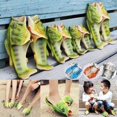 Funny, Sandals, uniqueshoe, flatsandal