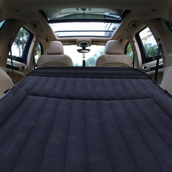 Suv Car Air Mattress Travel Bed Back Seat Cover Inflatable Blow Up