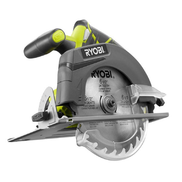 Refurbished Ryobi P507 ONE+ 18-Volt 6-1/2 in  Cordless Circular Saw (Tool  Only)
