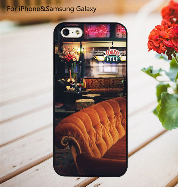 Central Perk NYC Friends TV Show Hard Phone Case Cover for IPhone 4 4S 5 5C  5S 6 6S 6Plus 6SPlus 7 7Plus 8 8Plus X SE for Samsung Galaxy S3 S4 S5 S6