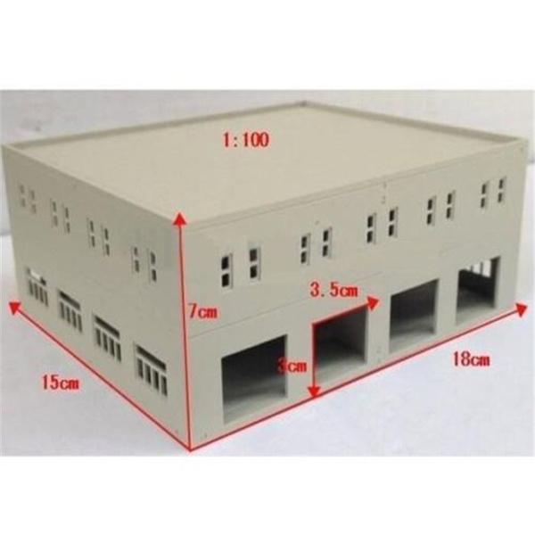Promotion DIY Outland Models Train Railway Garage / Logistics Centre N HO  OO Scale Toy