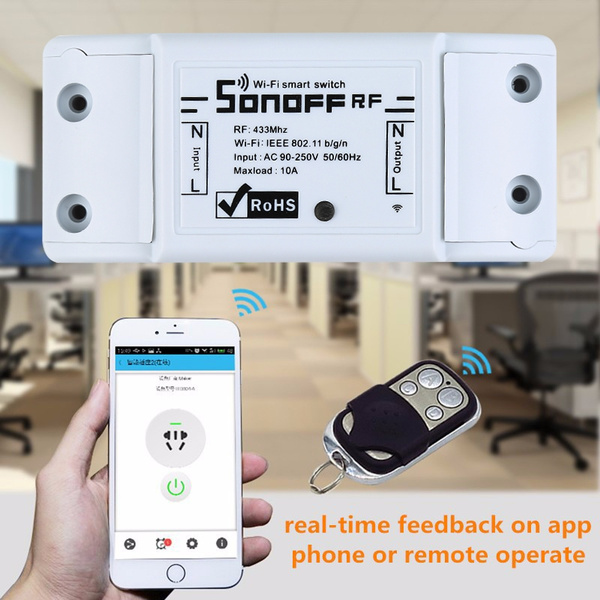 Smart Home WiFi 433Mhz Remote Switch Module for IOS Android APP For Sonoff  RF