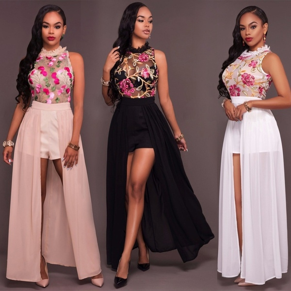 Women, Shorts, Lace, Halter