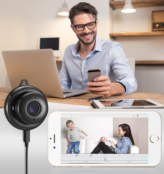 Digoo DG-MYQ 2 1mm Lens 720P WIFI Night Vision Two-way Audio Smart Home  Security IP Camera Motion Detection Alarm Support Amazon Web Service Cloud