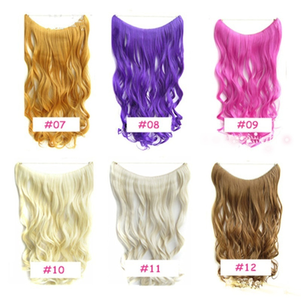 Geek Ultra Soft 24 Wavy Stretch Flip In Women Hair Extension