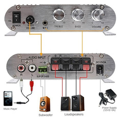 speakeramplifier, audioamplifier, Fashion, Bass