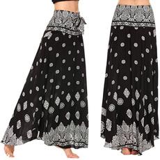 Women Pants, long skirt, Fashion, pants