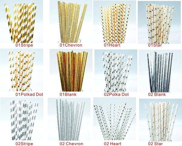paperstraw, drinkingstraw, Christmas, gold