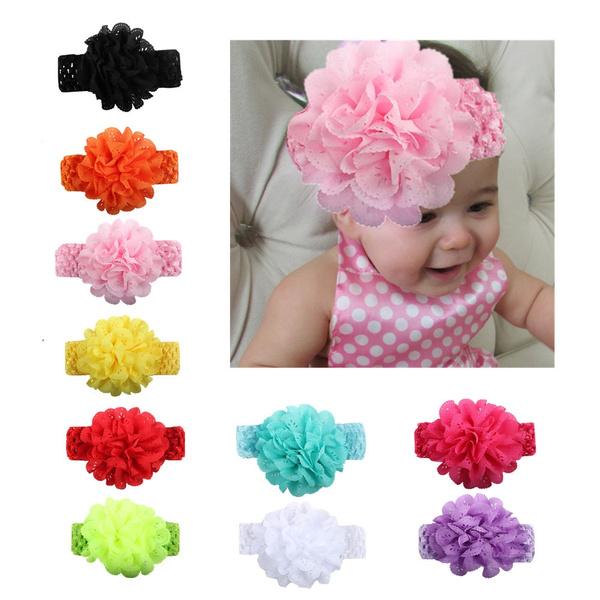 Kids Girls Baby Toddler Turban Floral Headband Hair Band Accessories Headwear