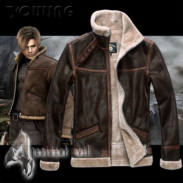 Biohazard 4 Resident Evil 4 Same As Leon Scott Kennedy Cosplay