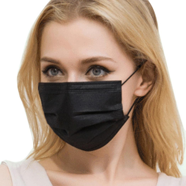 disposable face salon dust ear loop medical mouth flu mask