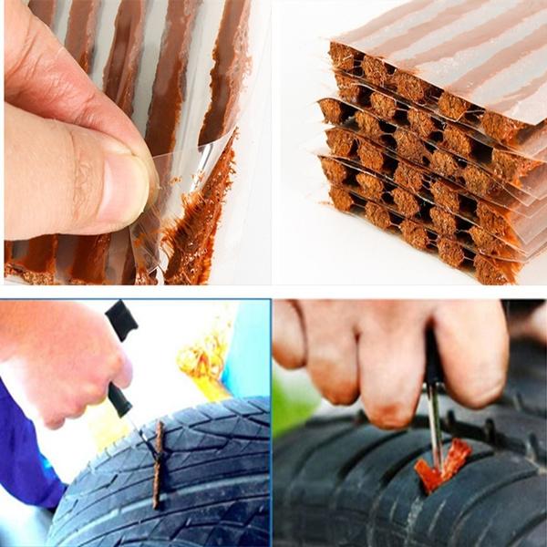 Wish   5 Pcs Car SUV Tyreless Seal Strip Plug Tire Puncture Repair ...